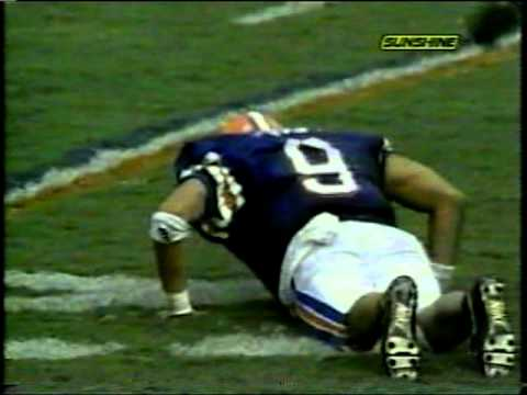 1991 FSU @ Florida - Matthews to Houston TD