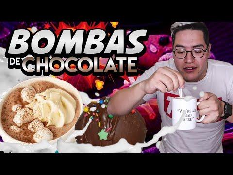 Bombas de CHOCOLATE para acompañar tu ROSCA DE REYES