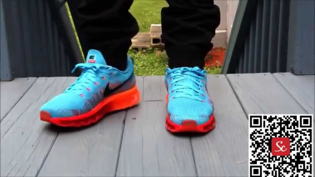f070e5d6330d9d SoleCool App Air Max Flyknit Shoes Review - YouTube