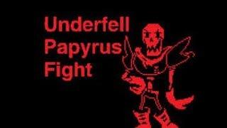 Undertale Đấu với Papyrus