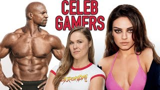 9 Celebrities You Didn't Know Were MASSIVE Gamers