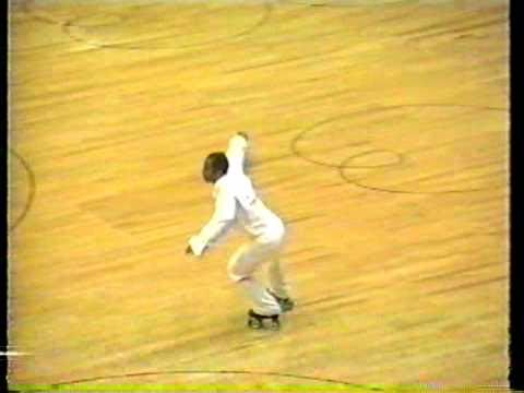 1996 Eddie Byrd World Class Mens Singles Long Program - Artistic Roller Skating