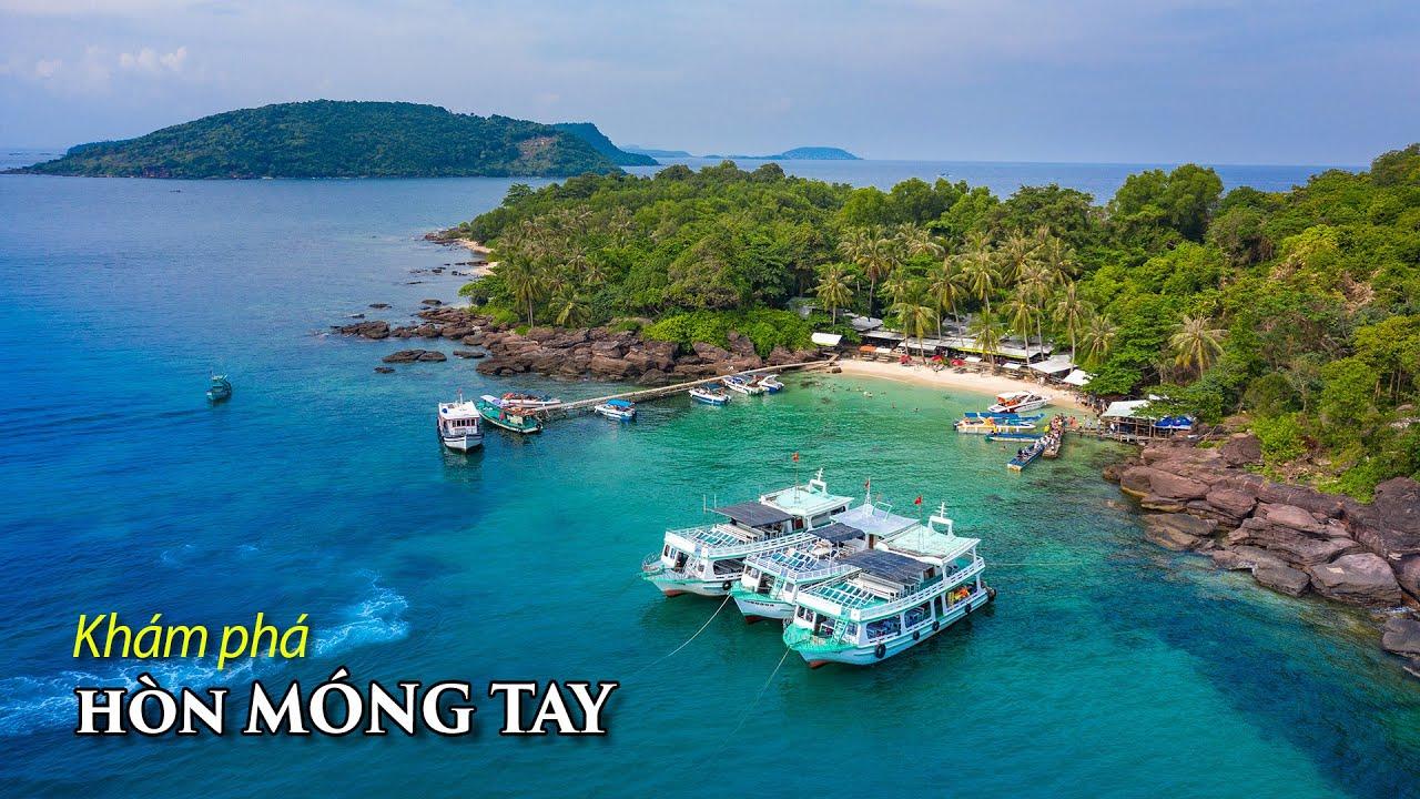 Tham quan HÒN MÓNG TAY được mệnh danh là Maldives Việt Nam.