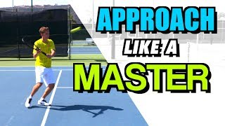Approach the net like a MASTER - Transition Domination - tennis lesson