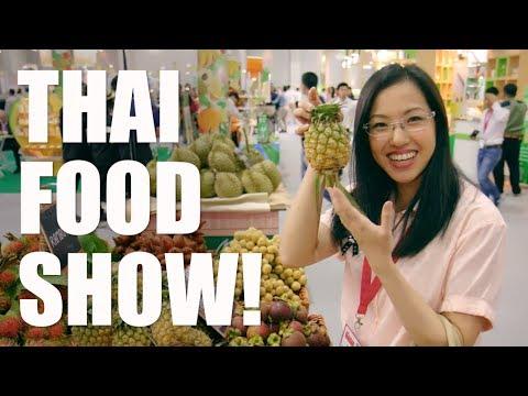 Thailand's Biggest Food Show! THAIFEX 2017 - Hot Thai Kitchen