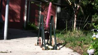 Trebuchet slow motion test fire Oct 29