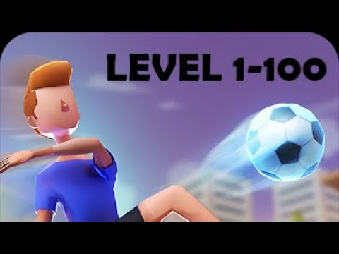 Flick Goal! Level 1-100 Gameplay Walkthrough Android IOS