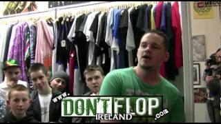 DON'T FLOP - Rap Battle - Redzer Vs Rawsoul