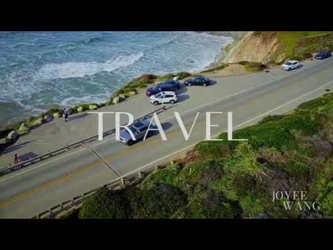 Drone Video of California's Pacific Coast Highway on a road trip