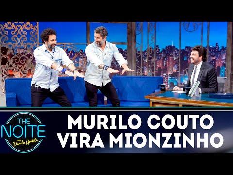 Murilo Couto se transforma em Mionzinho   The Noite (12/09/18)