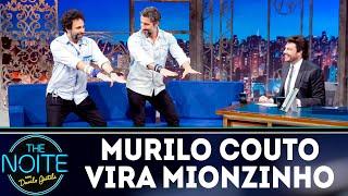 Murilo Couto se transforma em Mionzinho | The Noite (12/09/18)