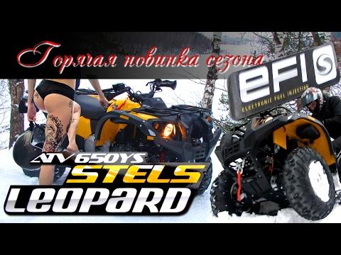Горячая новинка: Стелс Леопард 650 с инжектором! Стоит ли переплачивать за EFI 30 000 рублей?