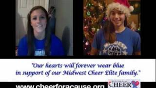 Rayna Marques & Whitney Love for Midwest Cheer Elite