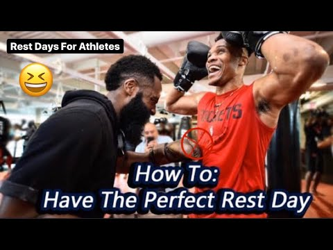 How To Have The PERFECT REST DAY As a BASKETBALL PLAYER + Athlete| JP Productions