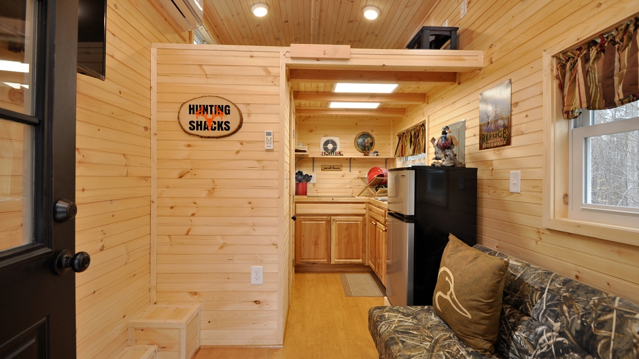 Tiny House Building Company Hunting Shacks YouTube