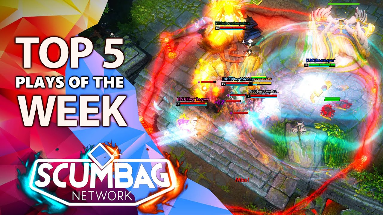 HoN Top 5 Plays of the Week - July 31st (2021)