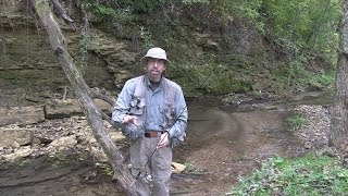 how to fly fish with a spinning rod part 1 of 3