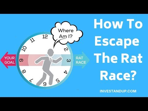 How To Escape The Rat Race