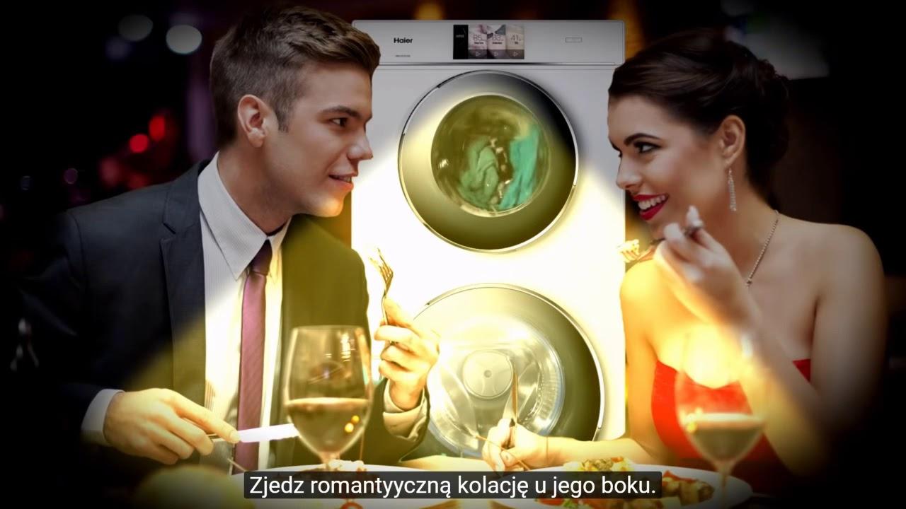 Download Reklama wody Vytautas i pralki Haier.