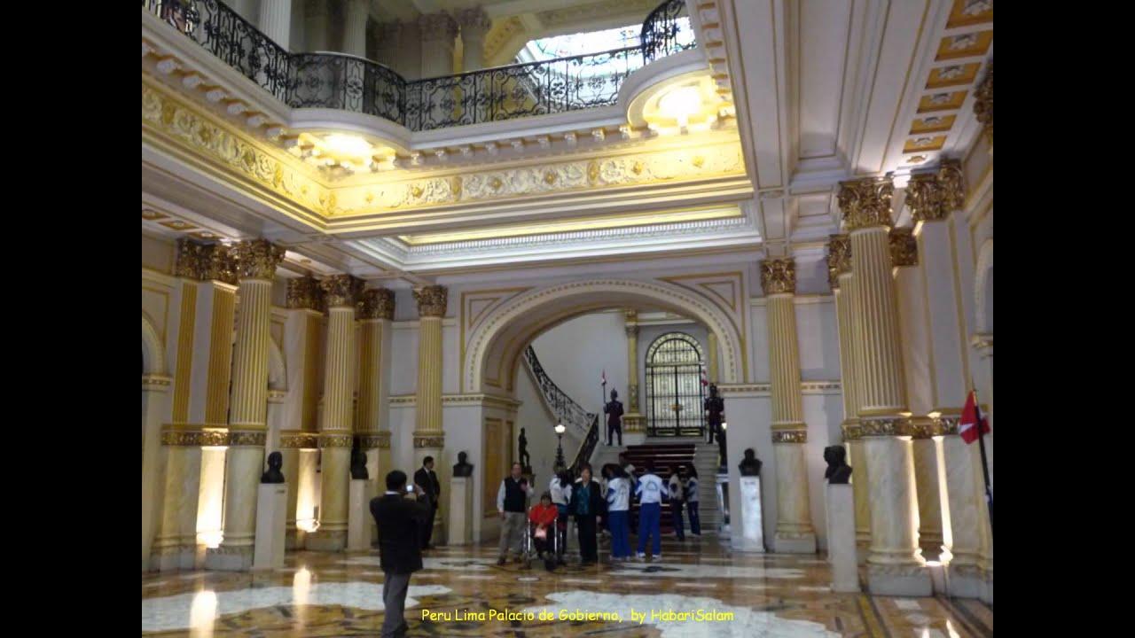 2011 peru lima palacio de gobierno visite guid e avec for Gobierno interior