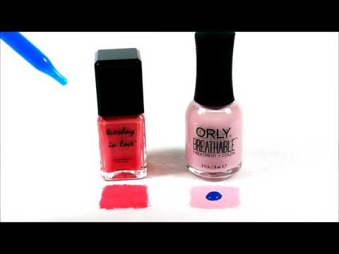 Halal Nail Polish Tuesday In Love Vs Orly Youtube