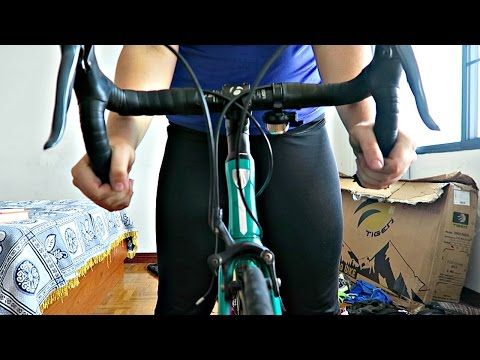 Reassembling My Bike For the First Time After Flying (NOOB ALERT)