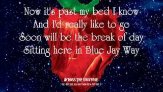 Blue Jay Way - Secret Machines {Lyrics}