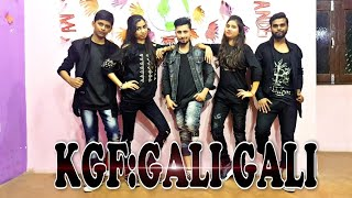 KGF : Gali Gali Song | Dance Cover Vedio | Neha Kakkar | Moni Roy | Prince Sony choreo |