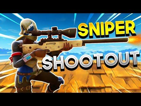 New Fortnite Sniper shootout [Crazy no scope]