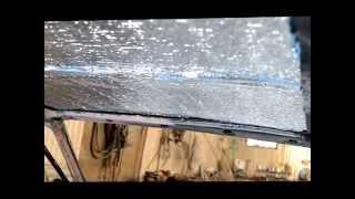 Сбор машины ВАЗ 2108 девушкой: шумоизоляция крыши(, 2015-10-21T08:51:37.000Z)