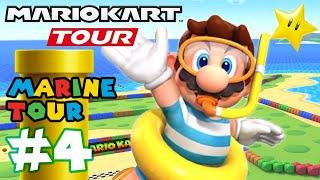 Mario Kart Tour: GOLD PIPE for Mario Swimwear MARINE TOUR - Part 4