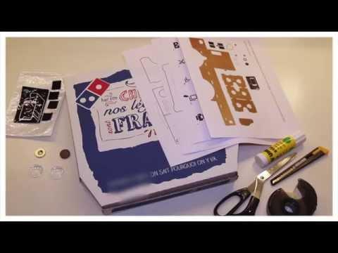Comment fabriquer un casque de réalité virtuelle avec une boite à pizza ?
