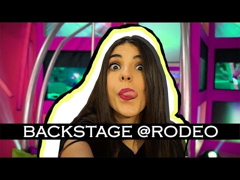 Τι κάνουμε στα backstage του rodeo?