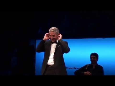 """BEPPE FIORELLO in """"VECCHIO FRACK"""" (Bis da """"PENSO CHE UN SOGNO COSì..."""") - TEATRO MANZONI (MI), 2014"""