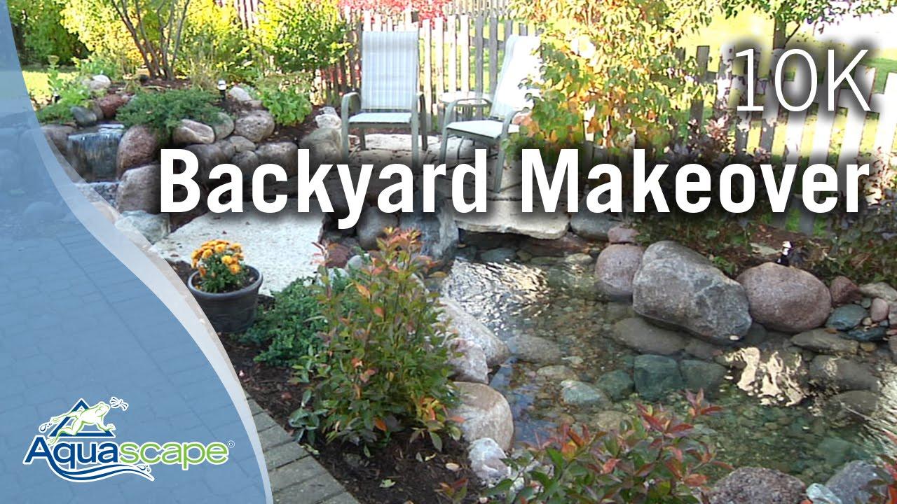 Aquascape Designs $17,17 Backyard Makeover