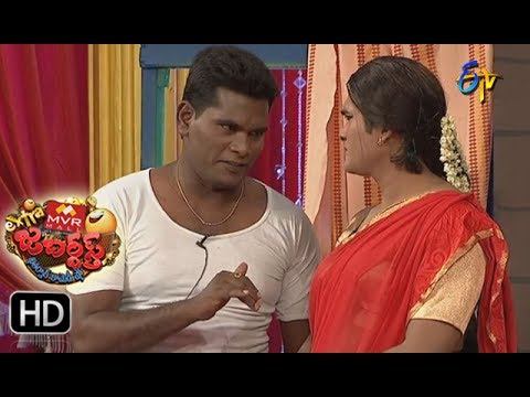 Chammak Chandra Performance   Extra Jabardsth   26th May 2017   ETV  Telugu
