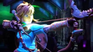 The World of Breath of the Wild from The Legend of Zelda. Nintendo Booth at E3 thumbnail