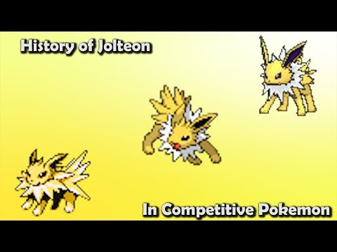 How GOOD was Jolteon ACTUALLY? History of Jolteon in Competitive Pokemon (Gens 1-6)