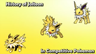 How GOOD was Jolteon ACTUALLY? - History of Jolteon in Competitive Pokemon (Gens 1-6)