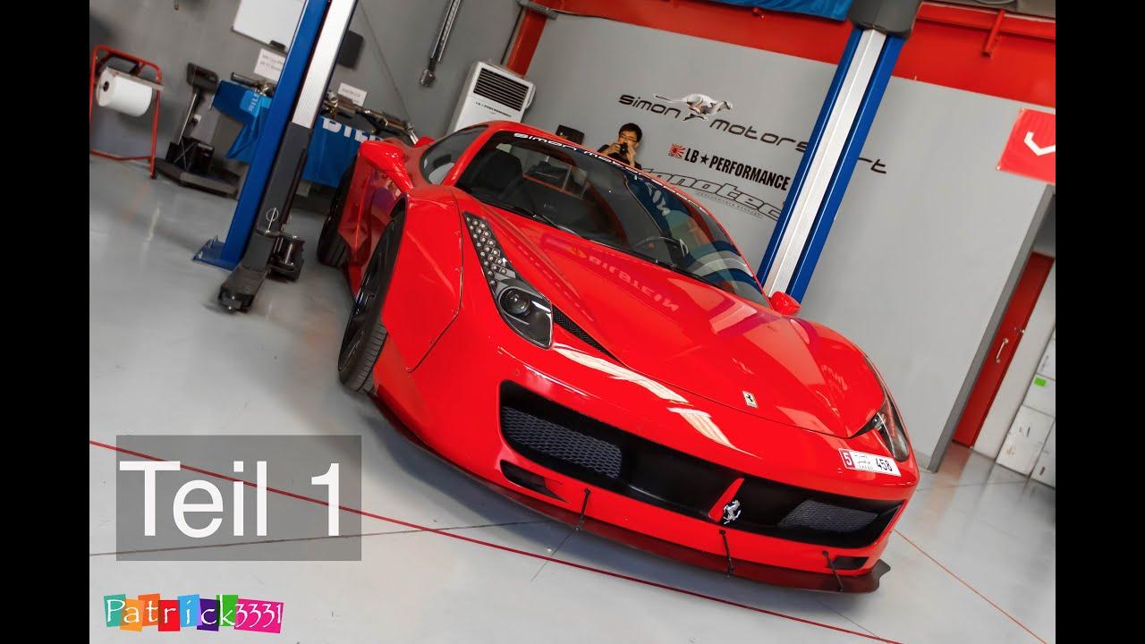 Ferrari 458 Spider Liberty Walk (Teil 1)   Simon MotorSport   Folge 2    YouTube