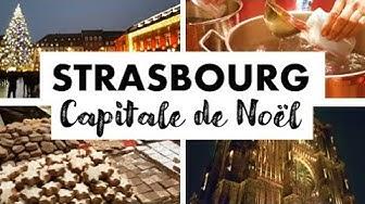 Bienvenue au marché de Noël de Strasbourg