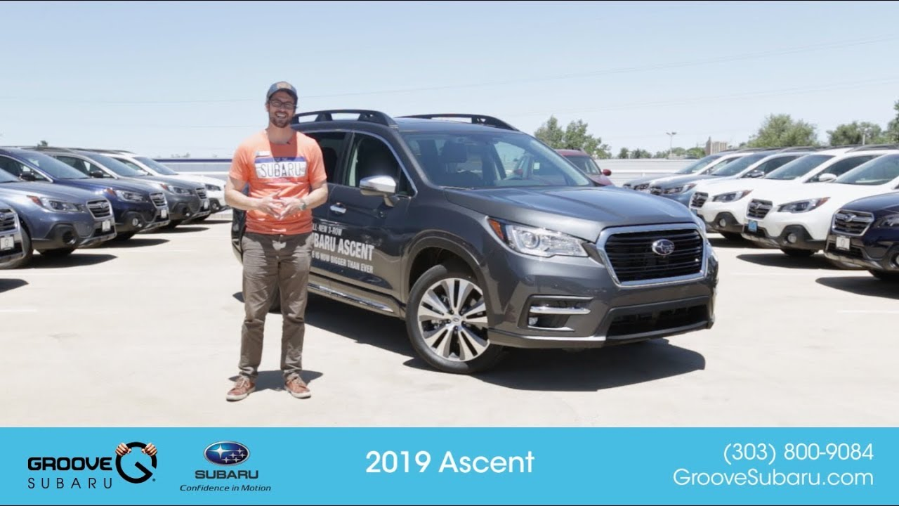 the all new 2019 subaru ascent test drive youtube