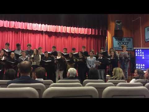 2018 - Connetquot High School Concert Choir - BOE Meeting - Muié Rendêra