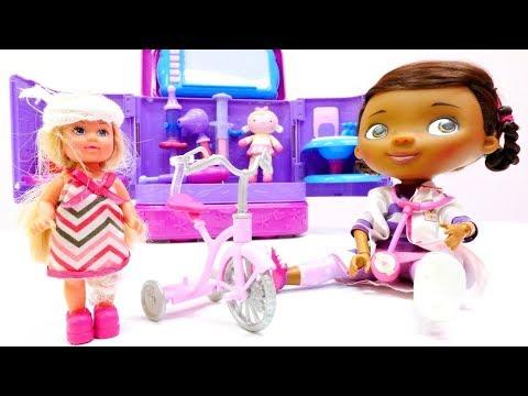 Spielspaß mit Doc McStuffins - Spielzeugvideo für Kinder - 4 Episoden am Stück