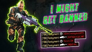 i might GET BANNED for this.. (BO4 Prestige 6 SNIPER)