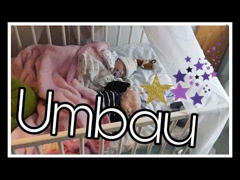 Babyzimmer Umbauen | Unser Babyzimmer || Reborn Baby Deutsch