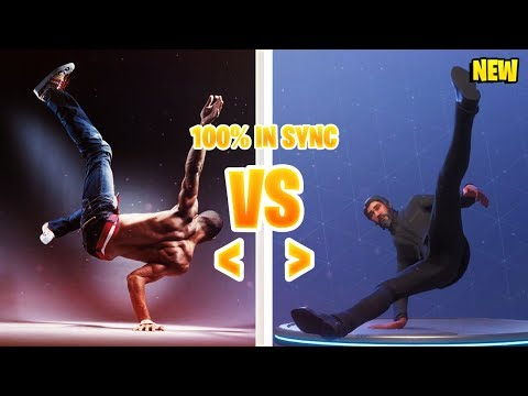 *NEW* FORTNITE SEASON 3 DANCES IN REAL LIFE!  Fortnite Battle Royale Epic Funny Moments #21