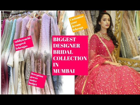 One Stop Designer Wedding Collection In Mumbai 2019 | Biggest Bridal Trends 2019 | Rajkumari Fashion