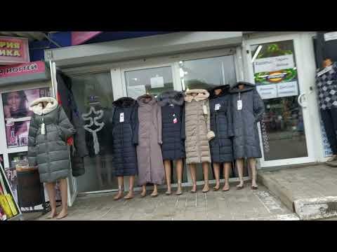 Крытый рынок Донецк ♥ Гуляю по рынку ♥ Примерка шубы ♥ Mila Balitskaya
