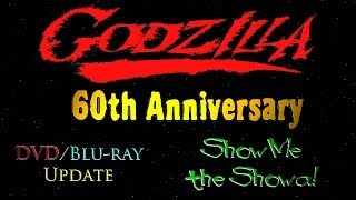 Godzilla DVD/Blu-ray Update: Show Me the Showa!